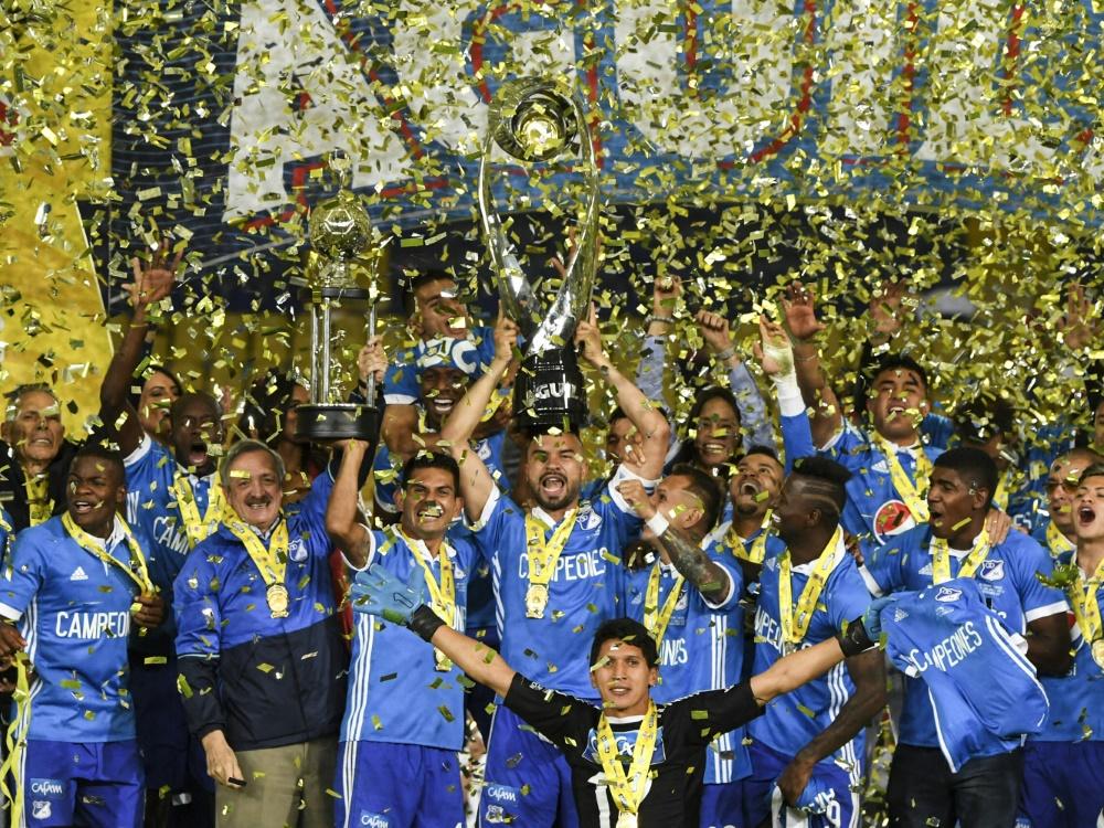 Millonarios feiern Titelgewinn nach 2:2 gegen Santa Fe