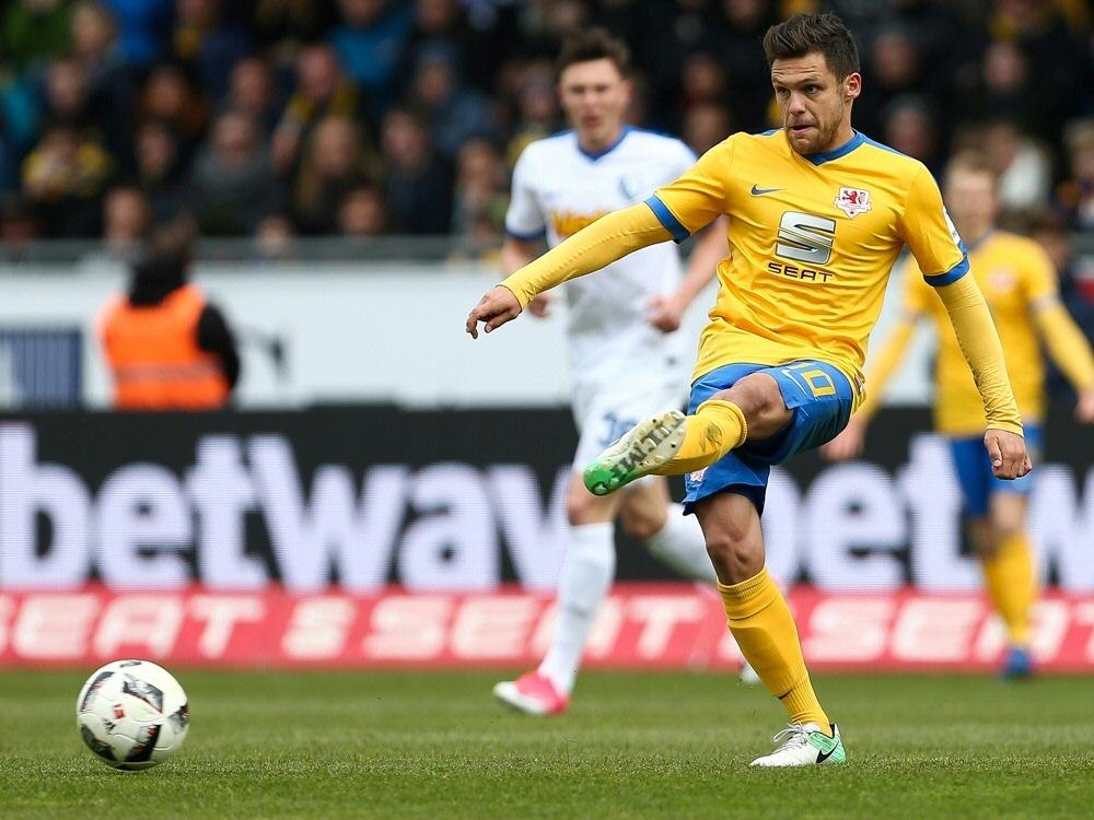 Erzielte das 1:0 für die Eintracht: Mirko Boland