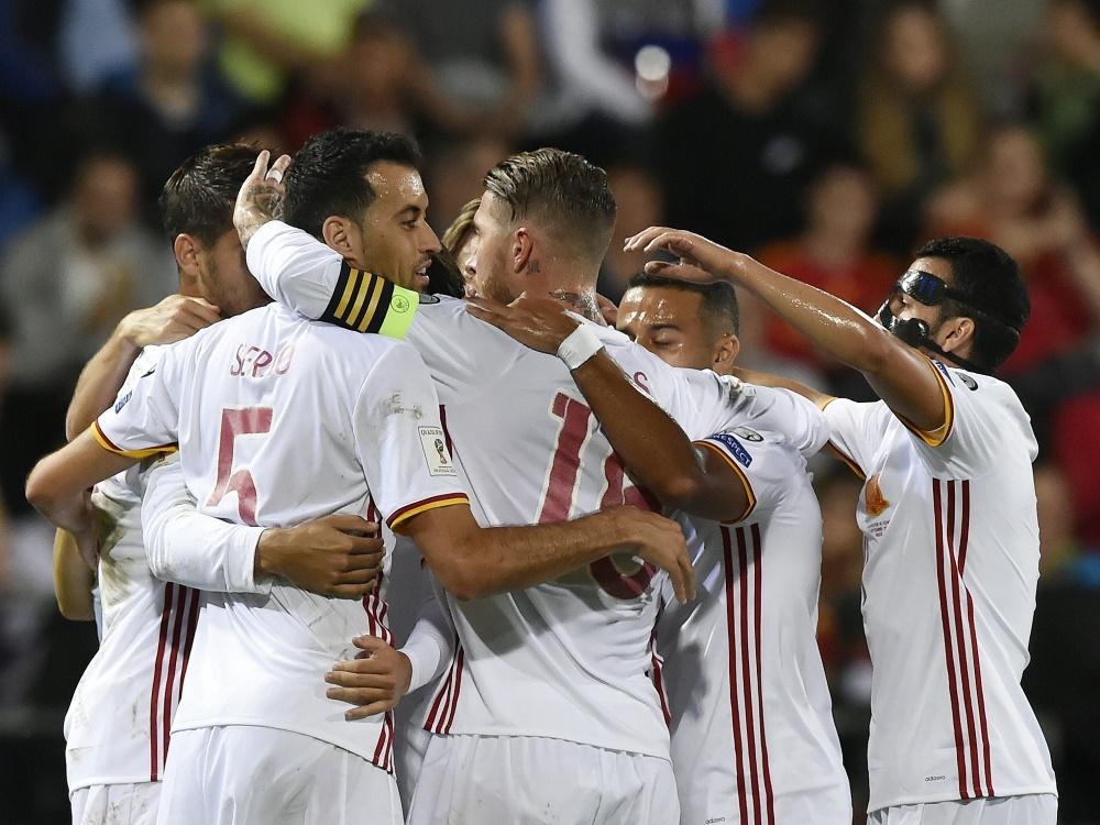 Unbezwingbar: Spanien erzielt acht Tore