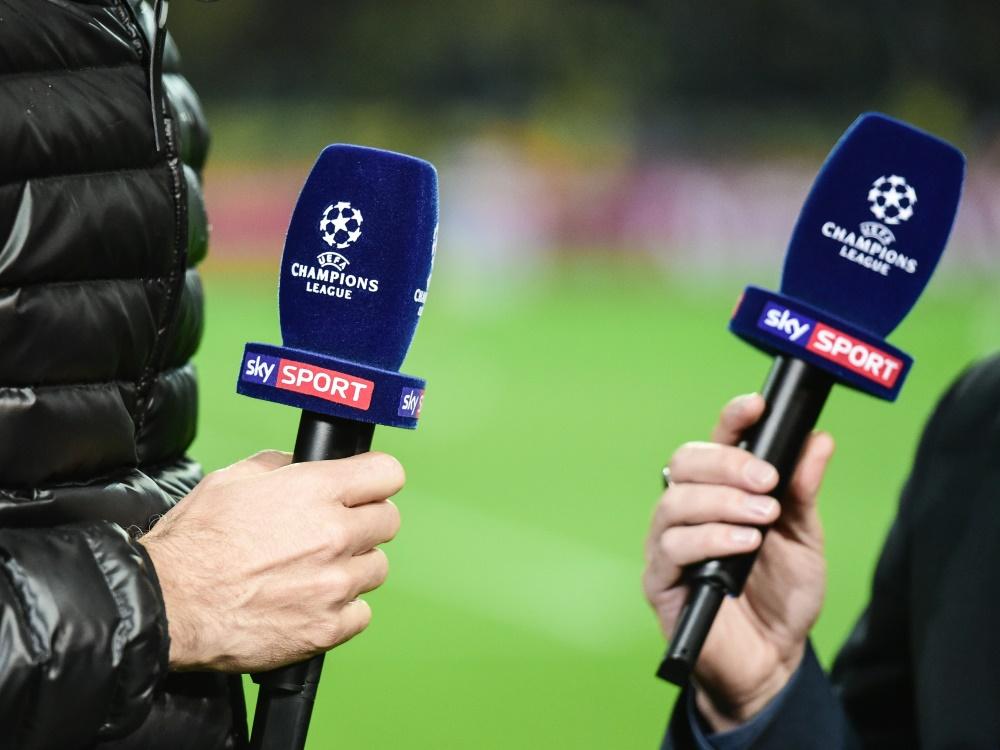 Keine Champions-League-Spiele auf