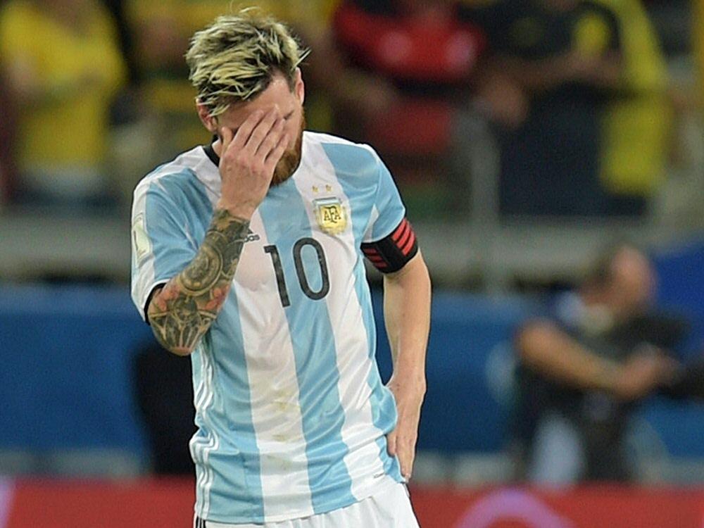 Lionel Messi musste sich auf dem Flug übergeben