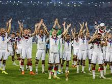 Kino-Show: Sieben Spieler erzählen vom Gewinn der WM