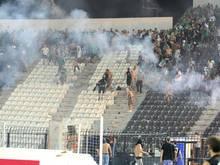 Nach einem Meisterschaftsspiel kommt es in Marokko zu Krawallen