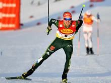 Fabian Rießle geht aussichtsreich in den Langlauf