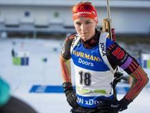 Denise Herrmann beweist ihre Biathlon-Tauglichkeit