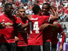 Manchester United bezwingt Real Madrid