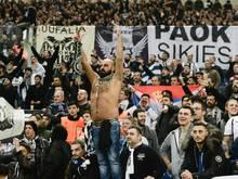 Die PAOK-Fans dürfen wieder ins Stadion