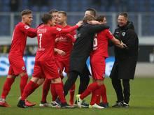 Bielefeld durfte sich über ein Last-Minute-Tor freuen