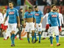 Napoli schied trotz eines Sieges in Leipzig aus