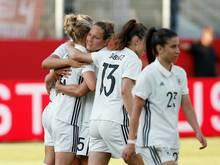 DFB-Frauen: Veränderte Startelf für das zweite Spiel