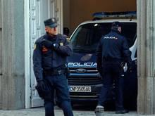 Rund 200 Beamte waren bei Durchsuchungen in Madrid, Barcelona und Albacete im Einsatz