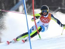 Frida Hansdotter schnappt sich die Goldmedaille