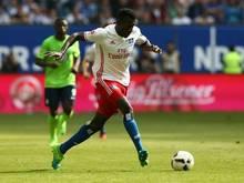 Bakery Jatta vom Hamburger SV erzählt von seiner Flucht