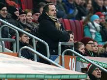Im Blickpunkt des DFB: Augsburgs Trainer Markus Baum