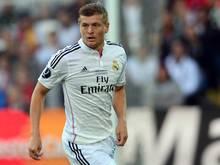 Kroos feierte im europäischen Supercup sein Real-Debüt