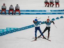 Schempp holt Silber im Biathlon hinter Franzose Fourcade
