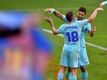 Jordi Alba und Luis Suárez treffen für den FC Barcelona
