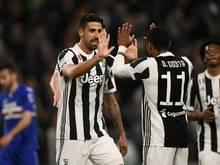 Sami Khedira will mit Juve die siebte Meisterschaft in Serie