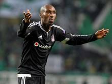 Das 1:0 durch Atiba Hutchinson reicht Besiktas nicht zum Sieg