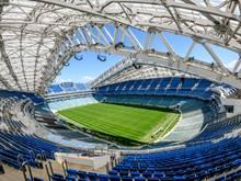 Das Fischt-Stadion wird künftig von Dinamo St. Petersburg genutzt