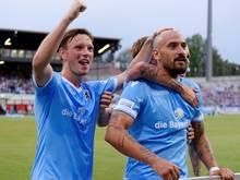 1860 feiert einen 3:1-Heimsieg gegen Wacker Burghausen