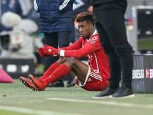 Kingsley Coman hat sich im Spiel gegen Berlin verletzt