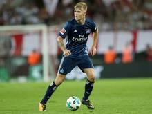 Rick van Drongelen verletzte sich im Spiel gegen Leipzig