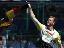 Christoph Harting holte sich in Rehlingen Platz zwei