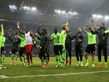 Ajax steht in der Runde der letzten Vier und feierte ausgelassen