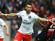 Javier Pastore wird weiter für Paris auflaufen