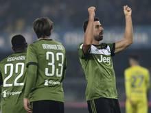Erzielte den Führungstreffer für Juventus: Sami Khedira