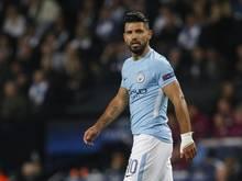 Sergio Agüero fühlt sich fit für das nächste Ligaspiel