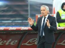 Roberto Donadoni war seit Oktober 2015 Trainer in Bologna