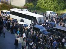 Ajaccio-Fans hatten den Bus von Le Havre angegriffen