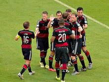 Die DFB-Elf geht als Gruppensieger ins Achtelfinale