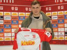 Kevin Hoffmann verlängert beim SSV Jahn Regensburg