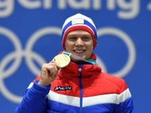 Lorentzen gewann bei Olympia Gold über 500 m