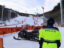 Olympia: Abfahrtsrennen der Männer verschoben