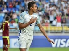 Dominic Calvert-Lewin erzielte das Siegtor für England