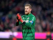 Im Falle des Abstiegs wird Timo Horn den 1. FC Köln wohl verlassen