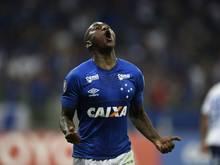 Cruzeiro-Stürmer Sassá kann wieder mit dem Auto fahren