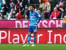 Nicolai Müller musste mal wieder ein Debakel miterleben
