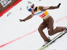 Kamil Stoch holt sich den Sieg im letzten Weltcup