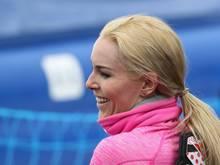 Lindsay Vonn nimmt vorerst nicht an Männer-Rennen teil