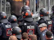Polizei fordert Stadionverbote für Fußball-Straftäter