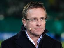Ralf Rangnick freut sich auf einen neuen Spieler