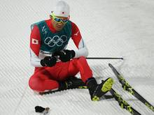 Akito Watabe während den Olympischen Winterspielen 2018