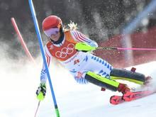Überraschung im Slalom: Shiffrin nur auf Platz vier