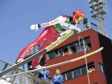 Am Vortag durfte er noch springen: Eric Frenzel