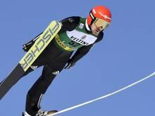 Fabian Rießle lag schon nach dem Springen zu weit zurück